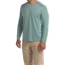 Mountain Hardwear CoolHiker T-Shirt - UPF 25, Cool.Q ZERO, Long Sleeve (For Men) in Ice Shadow - Closeouts
