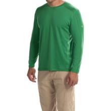 Mountain Hardwear CoolHiker T-Shirt - UPF 25, Cool.Q ZERO, Long Sleeve (For Men) in Serpent Green - Closeouts
