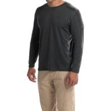 Mountain Hardwear CoolHiker T-Shirt - UPF 25, Cool.Q ZERO, Long Sleeve (For Men) in Shark - Closeouts