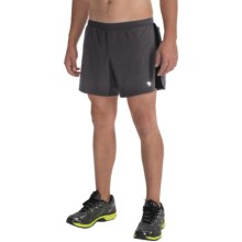 Mountain Hardwear CoolRunner Shorts - UPF 25, Built-In Brief (For Men) in Shark - Closeouts