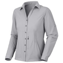 Mountain Hardwear Coralake Shirt - UPF 25, Long Sleeve (For Women) in Steam - Closeouts