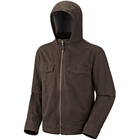 Mountain Hardwear Cordoba Hooded Jacket (For Men) in Cordovan
