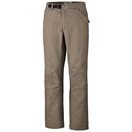 Mountain Hardwear Cordoba Pants - Cotton Canvas (For Men) in Khaki