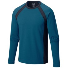 Mountain Hardwear Cragger Crew Shirt - Long Sleeve (For Men) in Phoenix Blue - Closeouts