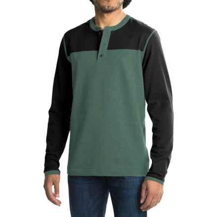 Mountain Hardwear Cragger Henley Shirt - Long Sleeve (For Men) in Thunderhead Grey - Closeouts