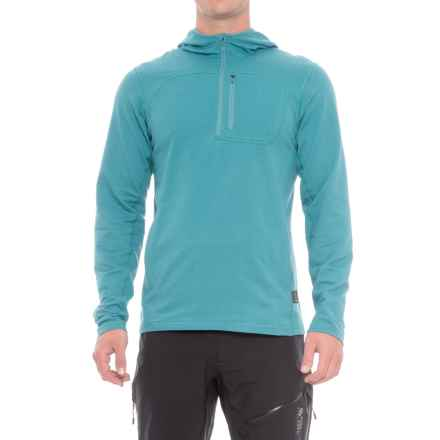 Mountain Hardwear Cragger Hoodie - Zip Neck (For Men) in Shasta - Closeouts