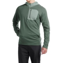 Mountain Hardwear Cragger Pullover Hoodie - Zip Neck (For Men) in Thunderhead Grey - Closeouts