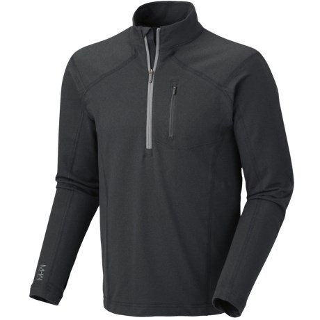 Mountain Hardwear Cragger Shirt - UPF 30, Zip Neck, Long Sleeve (For Men) in Jester Red