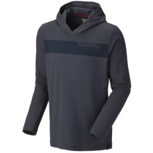 Mountain Hardwear Cragger Stripe Hoodie Sweatshirt - UPF 30 (For Men) in India Ink - Closeouts
