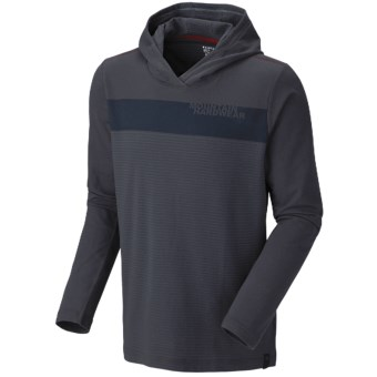 Mountain Hardwear Cragger Stripe Hoodie Sweatshirt - UPF 30 (For Men) in India Ink