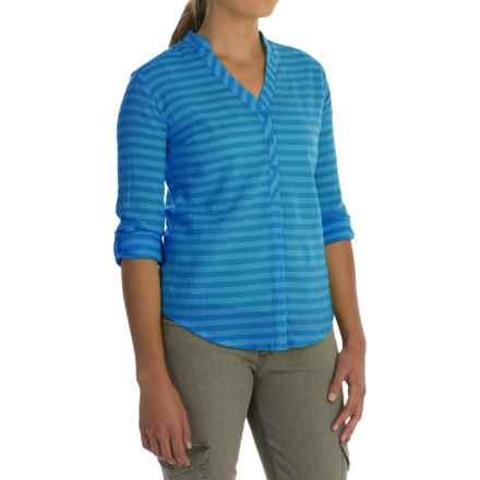 Mountain Hardwear DaraLake Shirt - Roll-Up Long Sleeve (For Women) in Atoll - Closeouts