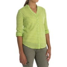 Mountain Hardwear DaraLake Shirt - Roll-Up Long Sleeve (For Women) in Tippet - Closeouts