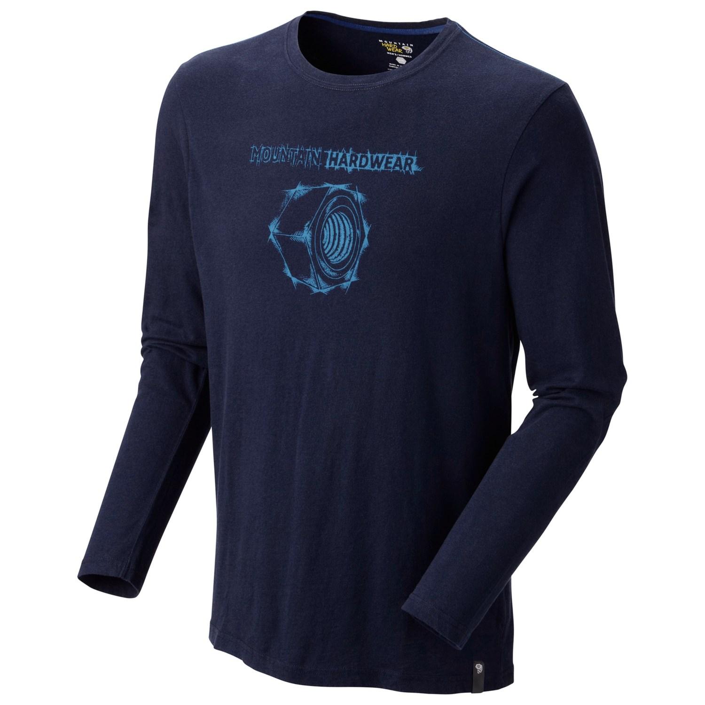 Mountain hardwear datrix classic t shirt long sleeve for Mountain long sleeve t shirts