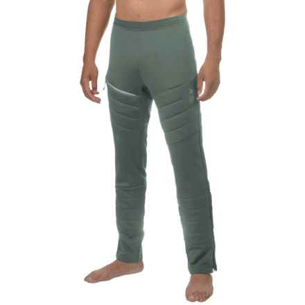 Mountain Hardwear Desna Alpen Base Layer Pants - Insulated (For Men) in Thunderhead Grey - Closeouts