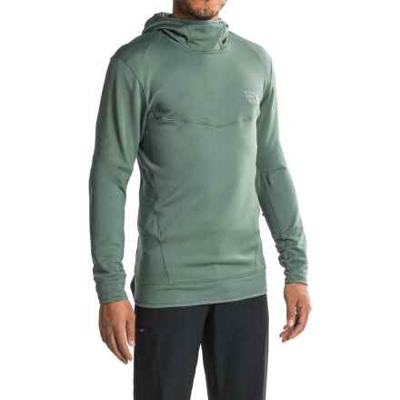 Mountain Hardwear Desna Alpen Fleece Hoodie (For Men) in Thunderhead Grey - Closeouts