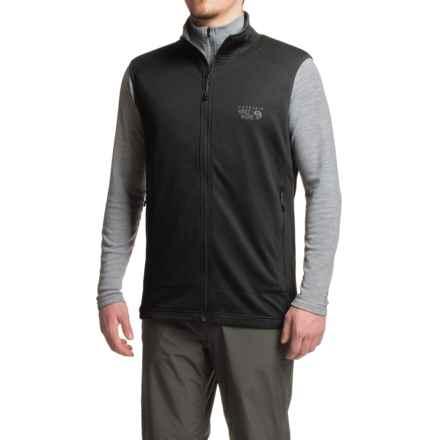 Mountain Hardwear Desna Fleece Vest (For Men) in Black - Closeouts