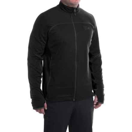 Mountain Hardwear Desna Grid Fleece Jacket - Polartec® Power Dry® (For Men) in Black - Closeouts