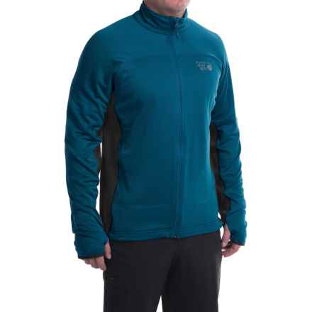 Mountain Hardwear Desna Grid Fleece Jacket - Polartec® Power Dry® (For Men) in Phoenix Blue - Closeouts
