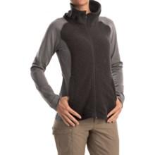 Mountain Hardwear Diamond Quartz Sweater - Full Zip (For Women) in Heather Black - Closeouts