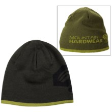 Mountain Hardwear Dome Beanie - Reversible, Wool Blend (For Men and Women) in Greenscape/Utility Green - Closeouts