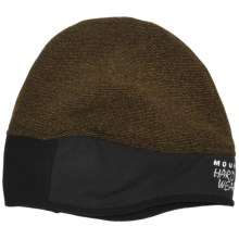 Mountain Hardwear Dome Perignon Beanie Hat - AirShield Fleece (For Men) in Morrell - Closeouts