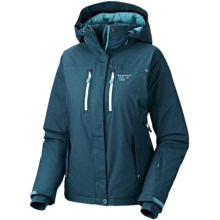 Mountain Hardwear Don't Slow Down Dry.Q Core Jacket - Waterproof, 650 Fill Power (For Women) in Prussian - Closeouts