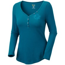 Mountain Hardwear DonnaAnna Shirt - Long Sleeve (For Women) in Lagoon - Closeouts
