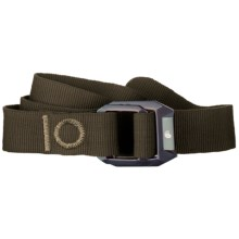 Mountain Hardwear Double Back Belt - Recycled Nylon (For Men and Women) in Cordovan - Closeouts