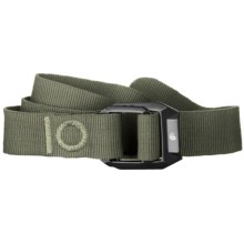 Mountain Hardwear Double Back Belt - Recycled Nylon (For Men and Women) in Peat Moss - Closeouts