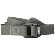Mountain Hardwear Double Back Belt - Recycled Nylon (For Men and Women) in Stone Green - Closeouts