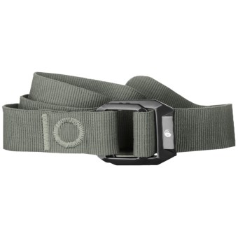 Mountain Hardwear Double Back Belt - Recycled Nylon (For Men and Women) in Stone Green