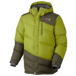 Mountain Hardwear Downhill Down Parka - 650 Fill Power (For Men) in Jester Red/Shiraz