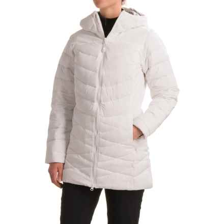Mountain Hardwear Downhill Metro Down Coat - 700 Fill Power (For Women) in White - Closeouts