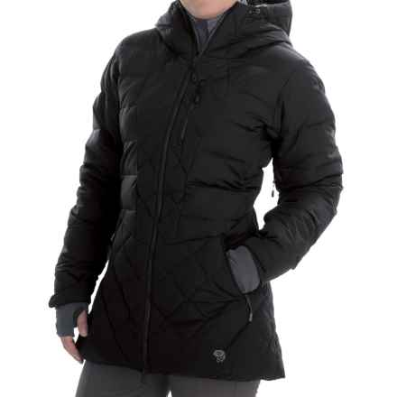 Mountain Hardwear Downhill Q.Shield® Down Parka - 700 Fill Power (For Women) in Black/Graphite - Closeouts