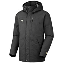 Mountain Hardwear Downtown Dry.Q Core Down Coat - Waterproof, 650 Fill Power (For Men) in Black - Closeouts