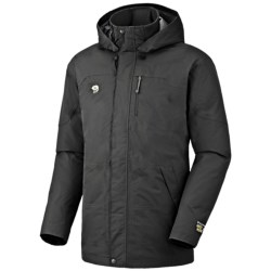 Mountain Hardwear Downtown Dry.Q Core Down Coat - Waterproof, 650 Fill Power (For Men) in Black