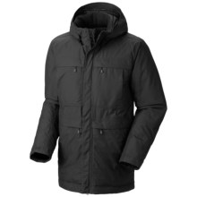 Mountain Hardwear Downtown Dry.Q® Core Down Coat - Waterproof, 650 Fill Power (For Men) in Black - Closeouts