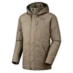 Mountain Hardwear Downtown Dry.Q®  Core Down Coat - Waterproof, 650 Fill Power (For Men) in Khaki