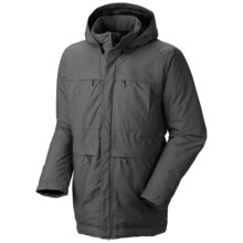Mountain Hardwear Downtown Dry.Q® Core Down Coat - Waterproof, 650 Fill Power (For Men) in Shark - Closeouts