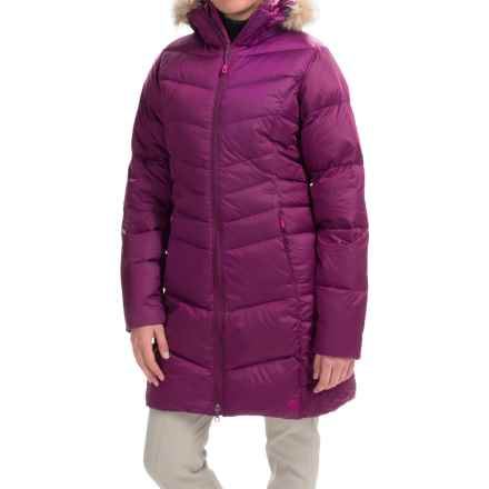 Mountain Hardwear Downtown Q.Shield® Down Coat - 650 Fill Power (For Women) in Dark Raspberry - Closeouts