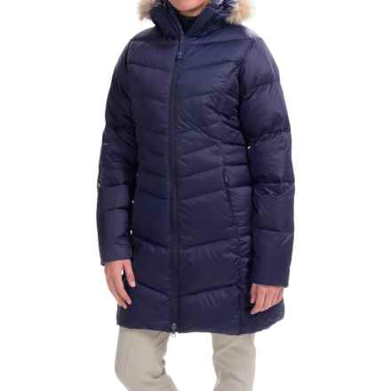 Mountain Hardwear Downtown Q.Shield® Down Coat - 650 Fill Power (For Women) in Indigo Blue - Closeouts