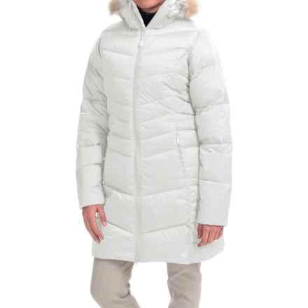 Mountain Hardwear Downtown Q.Shield® Down Coat - 650 Fill Power (For Women) in White - Closeouts