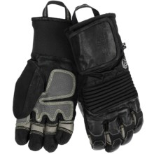Mountain Hardwear Dragon's Claw Gloves - Waterproof, Insulated (For Men) in Black/Grey - Closeouts