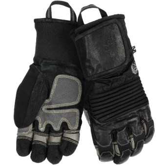 Mountain Hardwear Dragon's Claw Gloves - Waterproof, Insulated (For Men) in Black