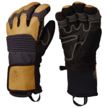Mountain Hardwear Dragon's Claw Gloves - Waterproof, Insulated (For Men) in Inca Gold - Closeouts