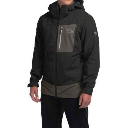 Mountain Hardwear Dragon Soft Shell Jacket (For Men) in Black - Closeouts
