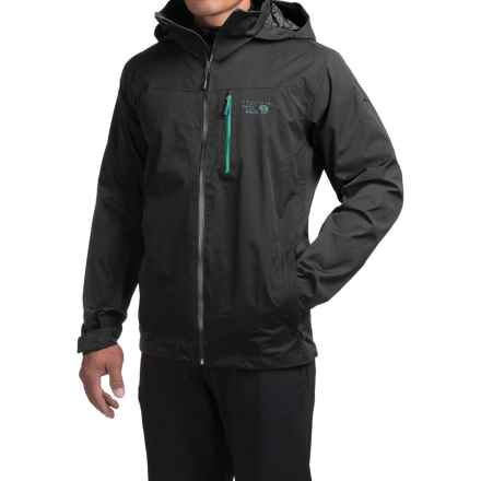 Mountain Hardwear Dragons Back Dry.Q® Core Jacket - Waterproof (For Men) in Black - Closeouts