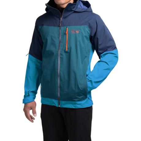 Mountain Hardwear Dragons Back Dry.Q® Core Jacket - Waterproof (For Men) in Hardwear Navy/Dark Compass
