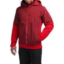 Mountain Hardwear Dragons Back Dry.Q® Core Jacket - Waterproof (For Men) in Smolder Red - Closeouts