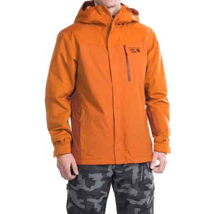 Mountain Hardwear Dragons Back Dry.Q® Core Ski Jacket - Waterproof, Insulated (For Men) in Orange Copper - Closeouts